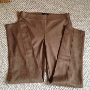 TALBOTS - Faux Suede Pants - NWT